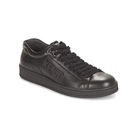 Kenzo TENNIX men's Shoes (Trainers) in Black