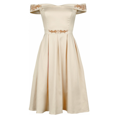 Beauty and the Beast - Belle - Prom - Dress - beige
