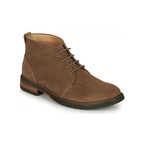 Clarks CLARKDALE BASE men's Mid Boots in Brown
