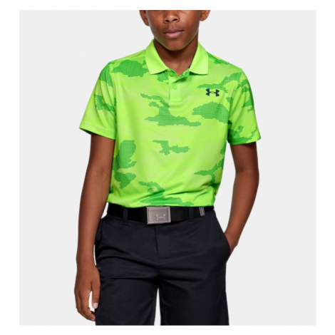 Boys' UA Performance Polo Textured Printed Under Armour