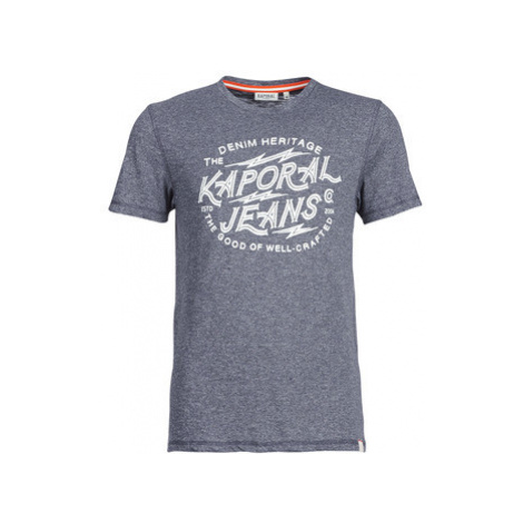 Kaporal PAGAN men's T shirt in Blue