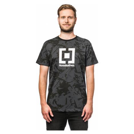 T-Shirt Horsefeathers Base - Asphalt - men´s
