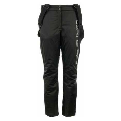 ALPINE PRO PADIA black - Women's ski pants