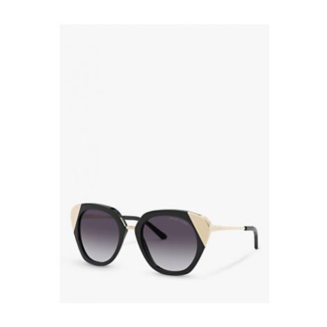 Ralph Lauren RL8178 Women's Square Sunglasses, Black/Grey Gradient