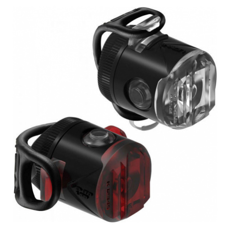 Lezyne FEMTO USB DRIVE black - Set of bicycle lights