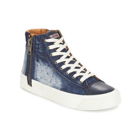 Diesel S-VOYAGE men's Shoes (High-top Trainers) in Blue
