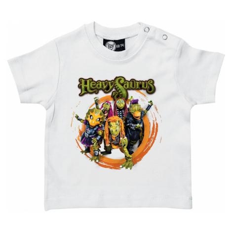Heavysaurus Rock 'n Rarr T-Shirt white