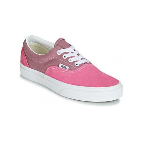 Vans ERA women's Shoes (Trainers) in Pink