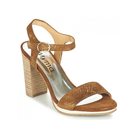 Myma MARCAS women's Sandals in Brown