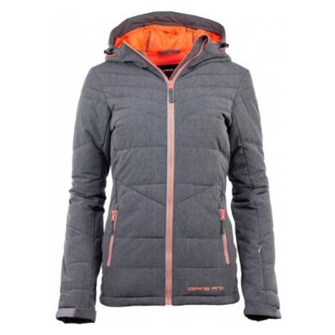 ALPINE PRO MEA 2 grey - Women's skiing jacket