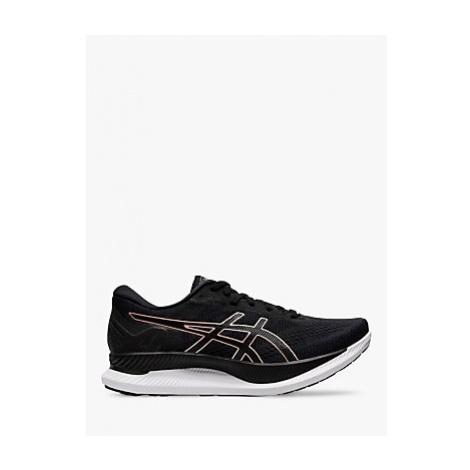 ASICS GLIDERIDE Women's Running Shoes, Black/Rose Gold