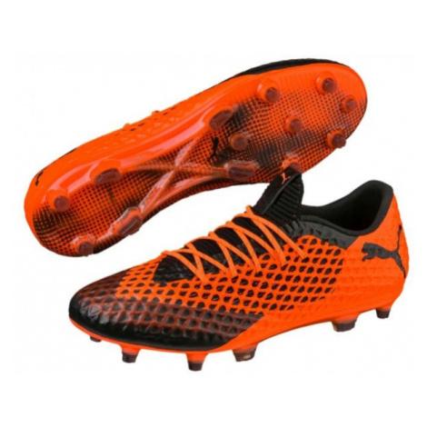Puma FUTURE 2.1 NETFIT LOW FG AG orange - Men's football boots