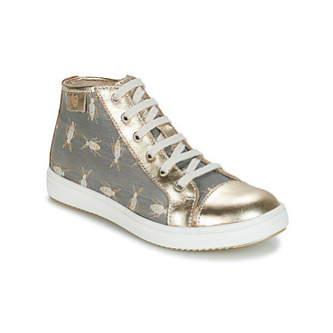 GBB IMELDA girls's Children's Shoes (High-top Trainers) in Grey