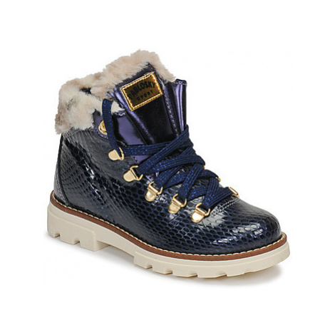 Pablosky 474428 girls's Children's Mid Boots in Blue
