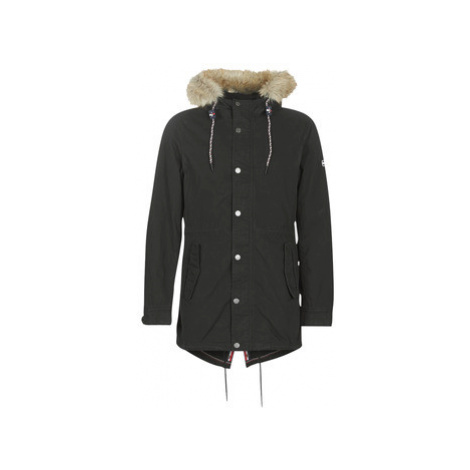 Tommy Jeans TJM COTTON LINED PARKA men's Parka in Black Tommy Hilfiger