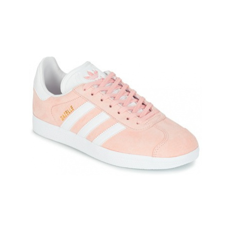 Adidas GAZELLE women's Shoes (Trainers) in Pink