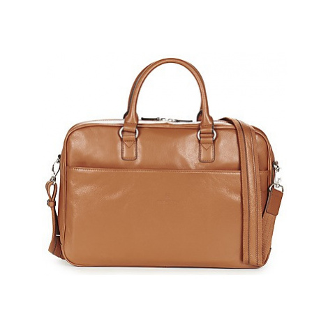 Hexagona PORTE DOC SOU women's Briefcase in Brown