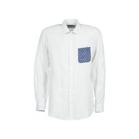 Serge Blanco CHACA men's Long sleeved Shirt in White