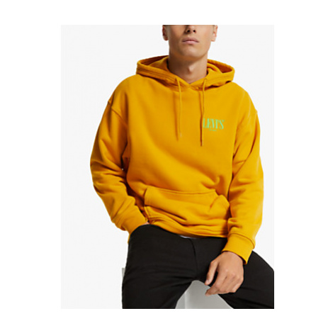 Levi's Relaxed Graphic Serif Hoodie, Golden Yellow Levi´s