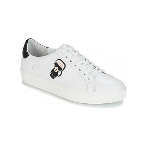 Karl Lagerfeld KUPSOLE KARL ICONIK women's Shoes (Trainers) in White