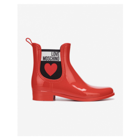Love Moschino Rain boots Red