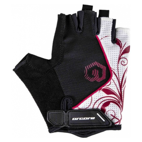 Arcore JADE white - Short finger cycling gloves