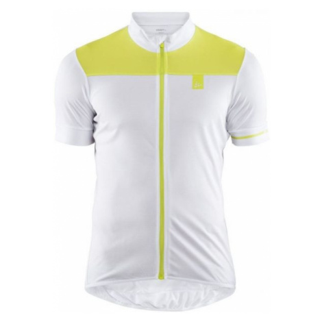 Craft POINT white - Men's cycling jersey