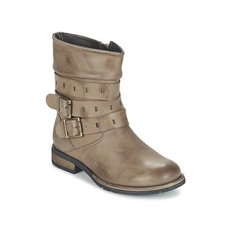 Acebo's MASTIQUIE girls's Children's Mid Boots in Brown