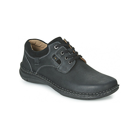 Josef Seibel ANVERS 36 men's Casual Shoes in Black