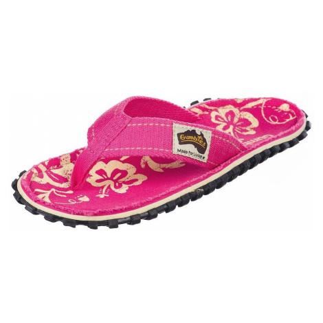 flip flops Gumbies Islander - Pink/Hibiscus