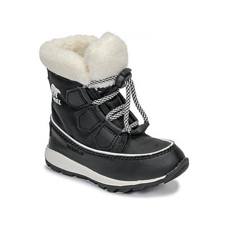 Sorel CHILDRENS WHITNEY™ CARNIVAL girls's Children's Snow boots in Black