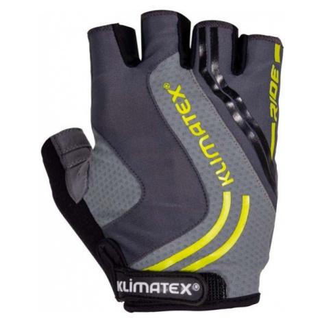 Klimatex RAMI dark gray - Men's Cycling Gloves