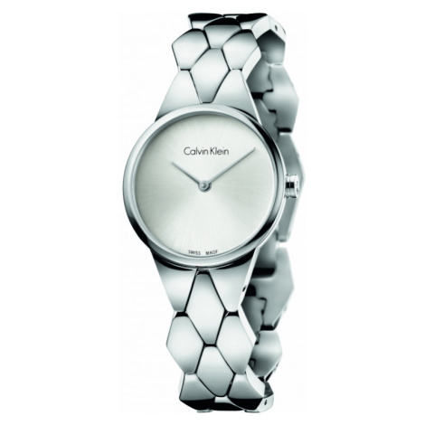 Ladies Calvin Klein Snake Watch K6E23146