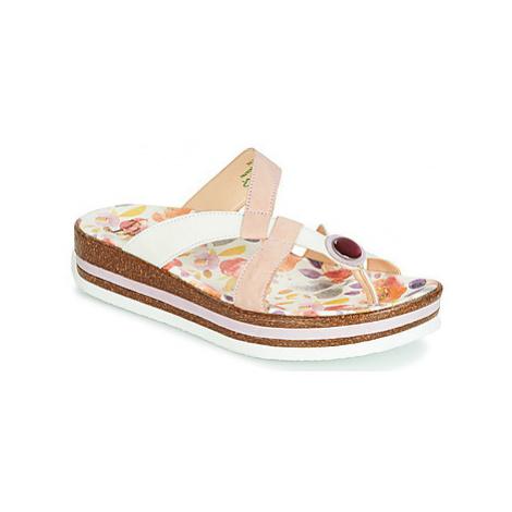 Think ZEGA women's Mules / Casual Shoes in Beige