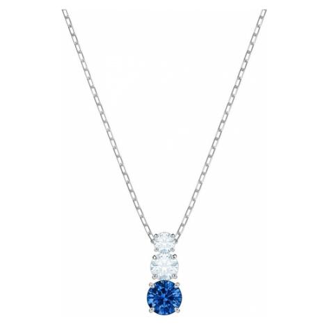 Swarovski Attract Trilogy Sapphire Crystal Necklace