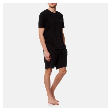 BOSS Hugo Boss Men's Small Logo Crew Neck T-Shirt - Black - Black