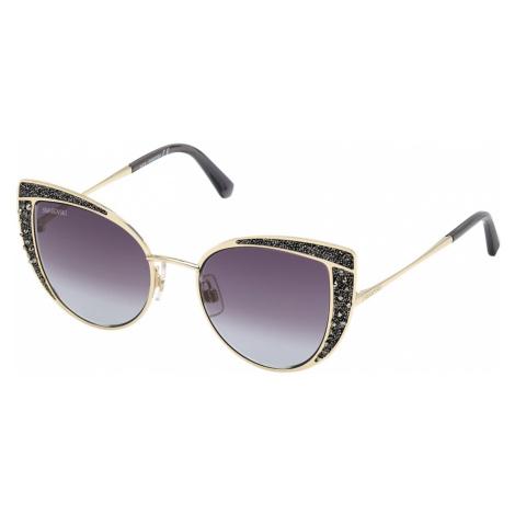 Swarovski Sunglasses, SK0282 32B, Black