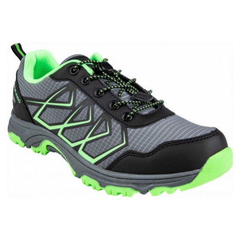 ALPINE PRO JACOBO black - Children's sports shoes