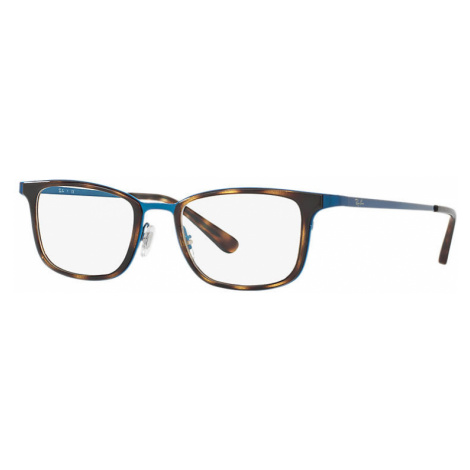 Ray-Ban Rb6373m Man Optical Lenses: Multicolor, Frame: Blue - RB6373M 2924 52-20