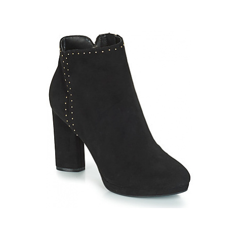 Guess PEACHIE women's Low Ankle Boots in Black