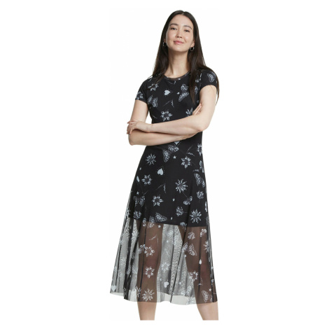 Desigual Austin Dress Black