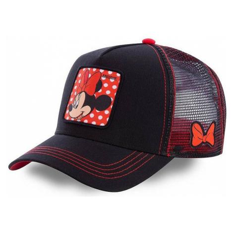 cap Capslab Disney Trucker - Minnie/Black/Red - women´s