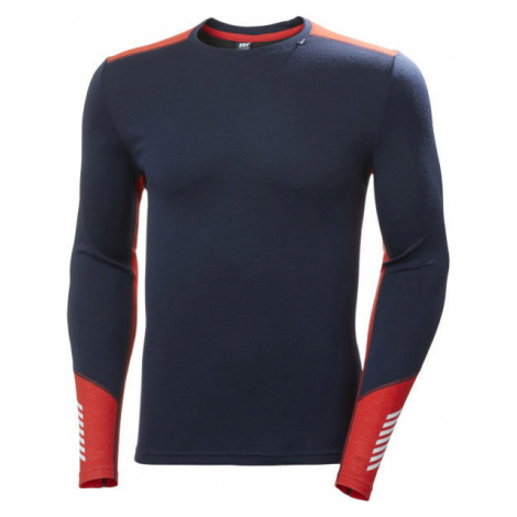 Helly Hansen LIFA MERINO MIDWEIGHT CREW blue - Men's highly functional base layer