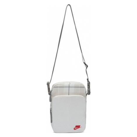 Nike HERITAGE SMIT - 2.0 AOP white - Shoulder bag