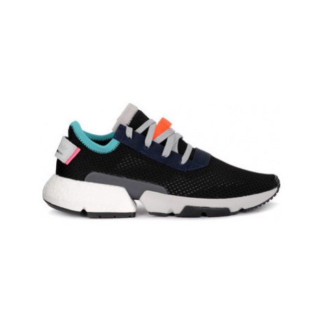 Adidas POD-S3.1 black sneakers with knit upper men's Shoes (Trainers) in Black