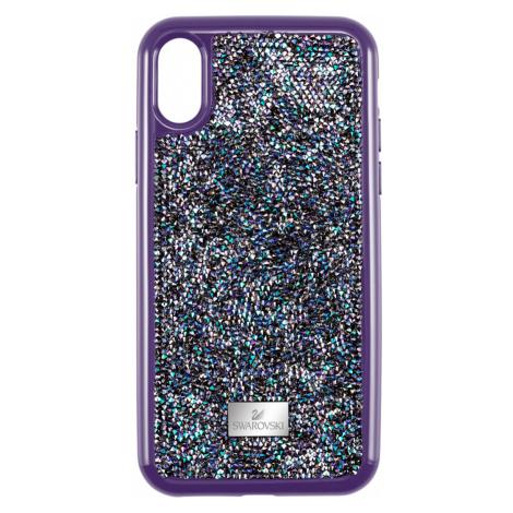 Glam Rock Smartphone Case with Bumper, iPhone® XR, Purple Swarovski