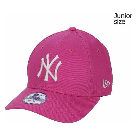 cap New Era 9FO League Basic MLB New York Yankees - Hot Pink/Optic White