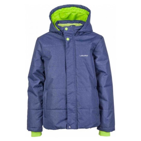 Lewro PALMER blue - Boys' winter jacket