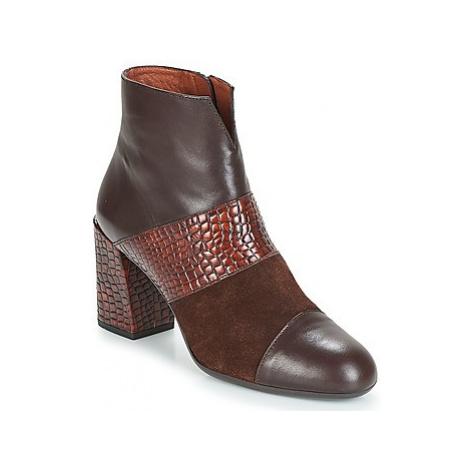 Hispanitas SAFRON women's Low Ankle Boots in Brown