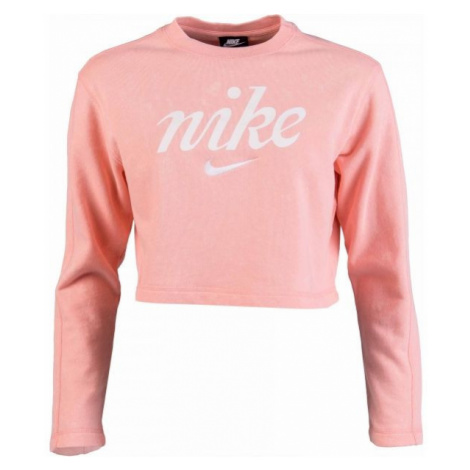 Nike NSW CREW CROP WSH pink - Women's sweatshirt